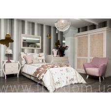 Комплект: кровать с сетью, шкаф, тумба прикроватная, комод I.Boy collection Halley