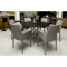 стол обеденный+ 6 стульев Octa, Kayala Bonaldo